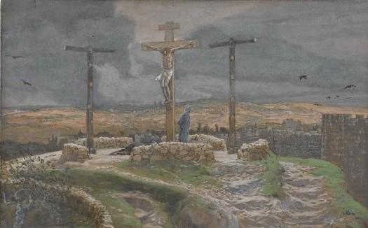 Brooklyn_Museum_-_Jesus_Alone_on_the_Cross_(Jésus_seul_sur_la_Croix)_-_James_Tissot